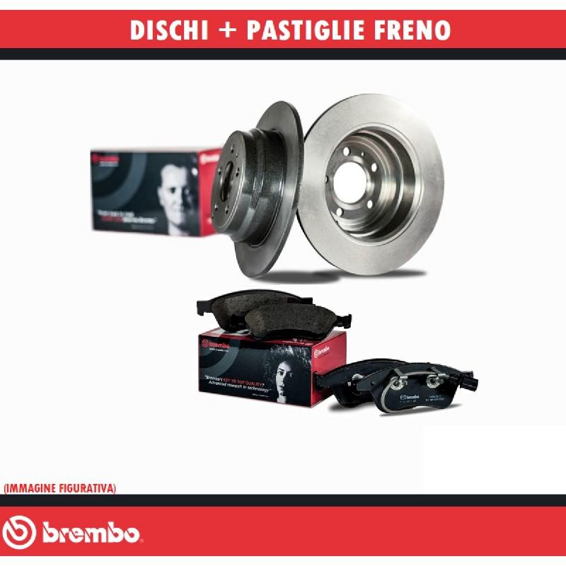 PASTIGLIE ANTERIORI FRENI BREMBO P23021 FIAT PANDA 1.0 4X4 33 KW 1994